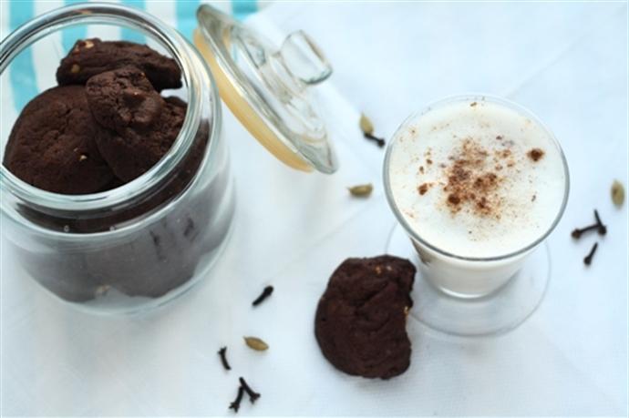 Biscuiti cu ciocolata si caju 14