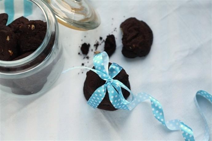 Biscuiti cu ciocolata si caju 12