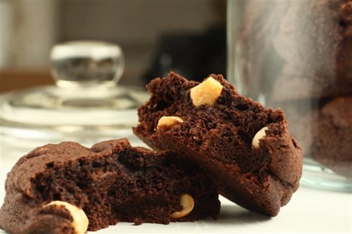 Biscuiti cu ciocolata si caju 13