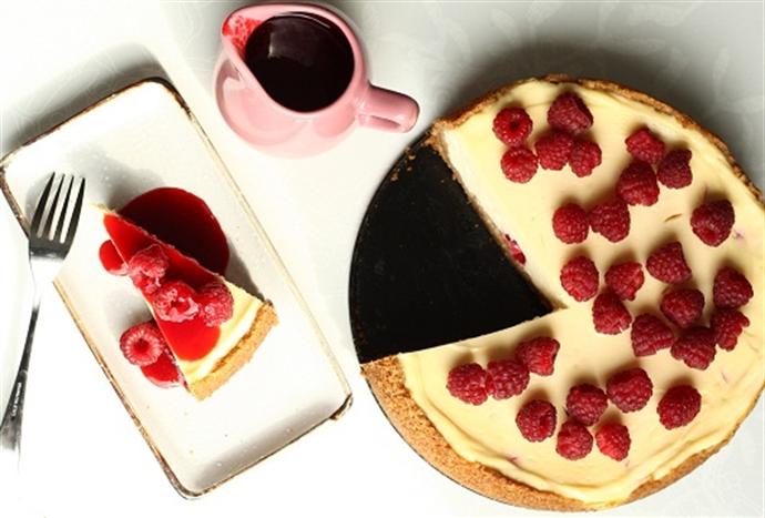 Placeri (ne)vinovate: Cheesecake cu zmeura 13